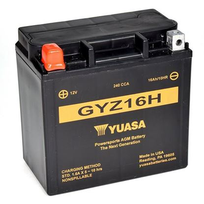 Picture of Yuasa GYZ20-HL battery not DG Made in USA factory sealed   []