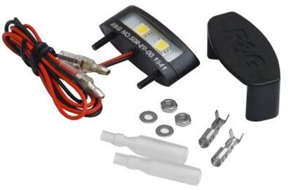 Picture of !Tail Tidy License Plate Replacement Light E-Mark R&G      []