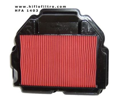 Picture of Air filter H MR8 VFR400 R 3M/K/N RVF400  Hiflo             []