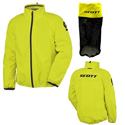 Picture of SCOTT Ergonomic DP Pro Rain Jacket yellow