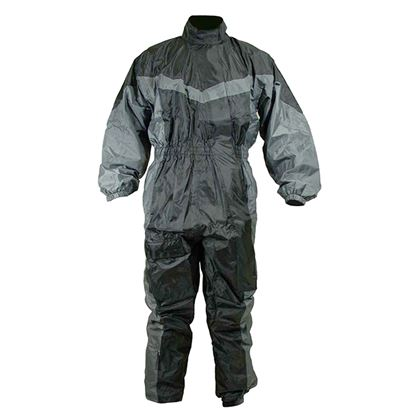 Picture of MOBIG Detroit 1 Peice Rain Suit Black Grey