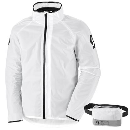 Picture of SCOTT Ergonomic DP Light Rain Jacket Clear