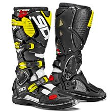 Picture of !Crossfire3 42 White-Black Fluro Yellow MX Boots Sidi      [A]