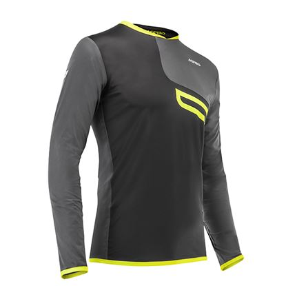 Picture of ACERBIS Enduro One Jersey 2018 Black Yellow