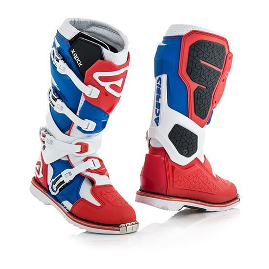 Picture of ACERBIS X-Rock Boots Red Blue