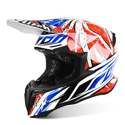 Picture of AIROH TWIST Helmet Leader Red Gloss