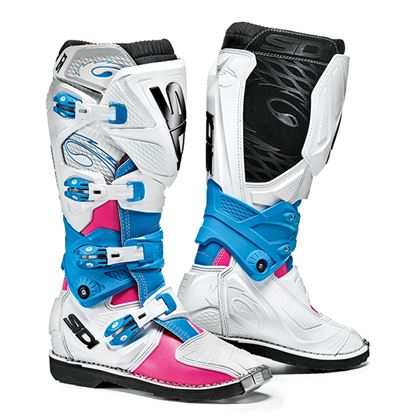 Picture of SIDI X-3 Lei Women's Boots - White Pink