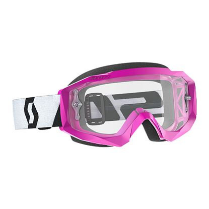 Picture of SCOTT Hustle X MX Pink Black with Clear Works Lens