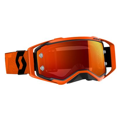 Picture of SCOTT Prospect Goggles Black Orange with Orange Chrome Works Lens