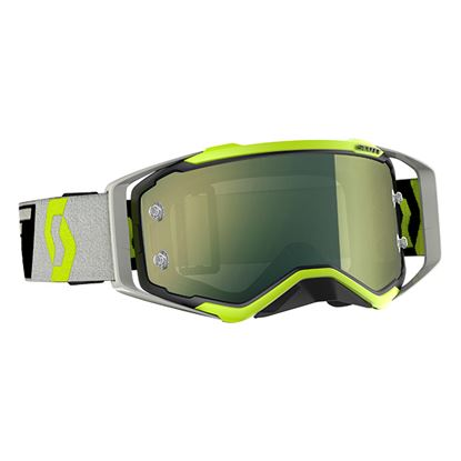 Picture of SCOTT Prospect Goggles Black Grey with Yellow Chrome Works Lens