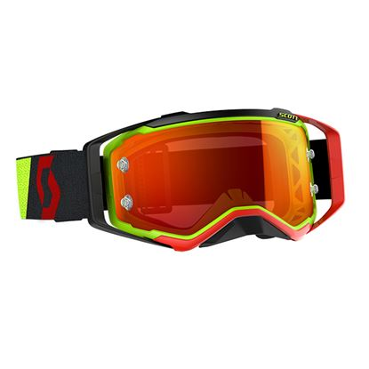 Picture of SCOTT Prospect Goggles Yellow Red with Blue Orange Works Lens