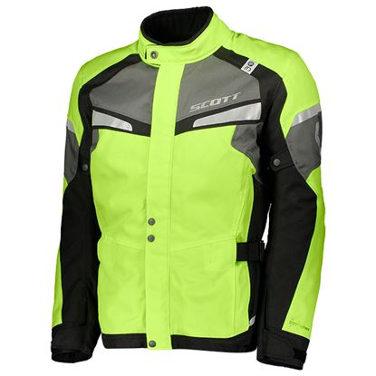 Picture of SCOTT Storm DP Jacket Neon Yellow Black