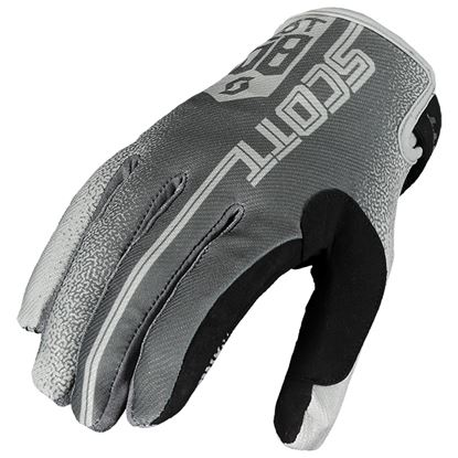 Picture of SCOTT 350 Race Gloves 2019 Grey Grey