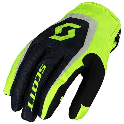 Picture of SCOTT 350 Dirt Gloves 2019 Black yellow