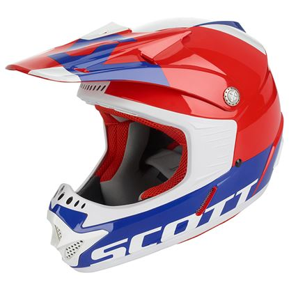 Picture of SCOTT 350 Junior Helmets 2019 Red Blue
