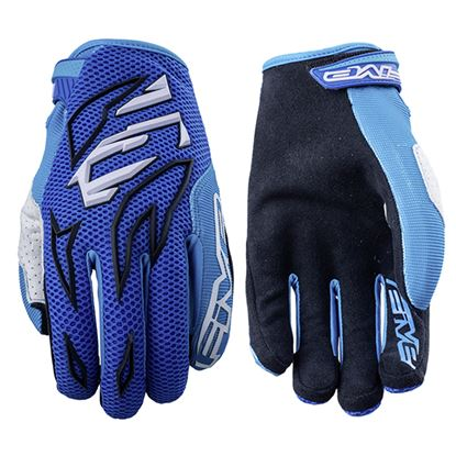 Picture of FIVE  MXF3 Youth Glove Blue Blue
