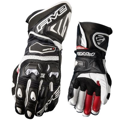 Picture of FIVE RFX1 Race Glove Black White