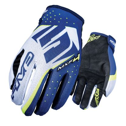 Picture of FIVE  MXF4 Glove Fluro Yellow