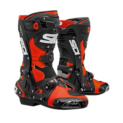 Picture of SIDI REX Race Boots Black red
