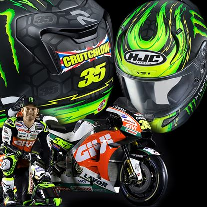 Picture of HJC Crutchlow Rep (Limited edition)