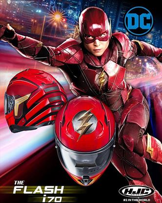 Picture of HJC i70 The Flash DC Comics