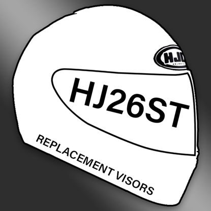 Picture of HJ26ST Visors