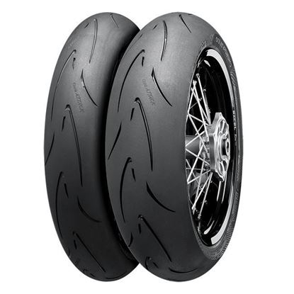 Picture of CONTINENTAL - Street-Legal Supermoto Tyre