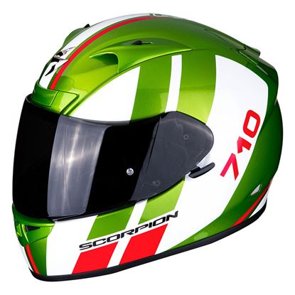 Picture of SCORPION  EXO-710 Air GT Green White