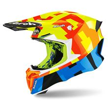 Picture of Frame S Yellow Gloss Twist 2.0 Helmet MX Airoh             []