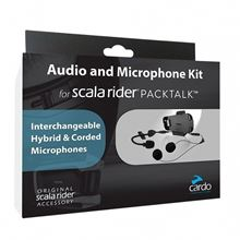 Picture of Audio and Microphone Kit Packtalk Cardo                    [A]