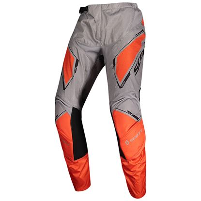 Picture of SCOTT 350 Youth Pants 2020 Dirt Grey Orange