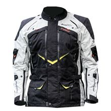 Picture of M Advent-Tour Trekker Jacket Blk/Gry/Flu MotoDry           []