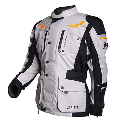 Picture of MotoDry Rallye Jacket Black Grey Orange