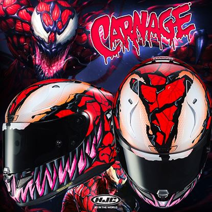 Picture of HJC Carnage Marvel MC-1 (Limited edition)