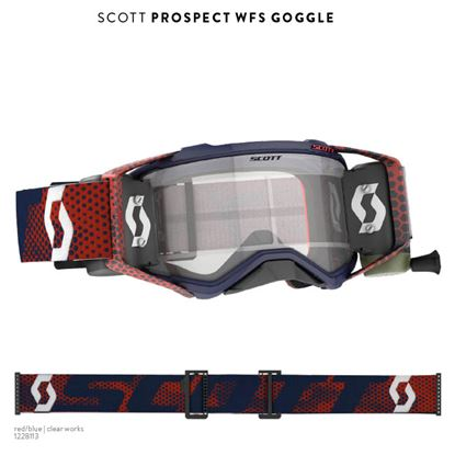 Picture of SCOTT Prospect WFS Goggle Red Blue