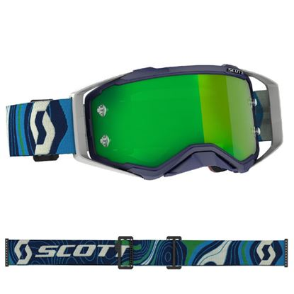 Picture of SCOTT Prospect Goggle Blue Green with Green Chrome lens