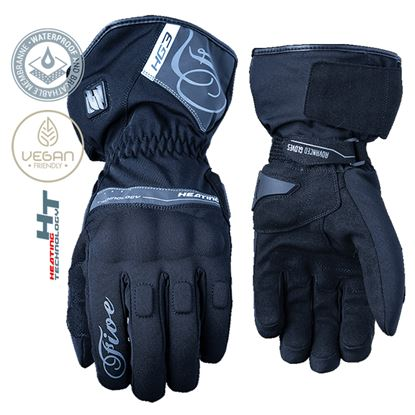 Picture of FIVE HG3 WP Women's  Gloves Black