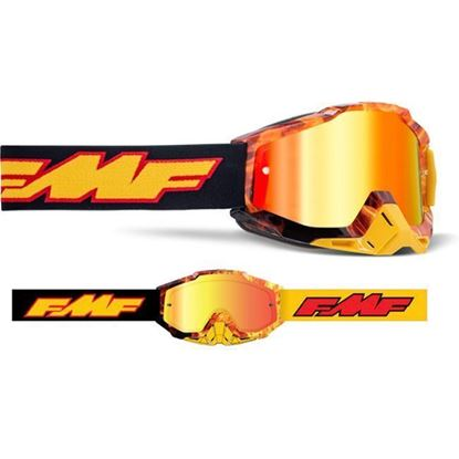 Picture of FMF POWERBOMB Youth Goggles Mirror Lens