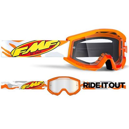 Picture of FMF POWERCORE Goggles Clear Lens
